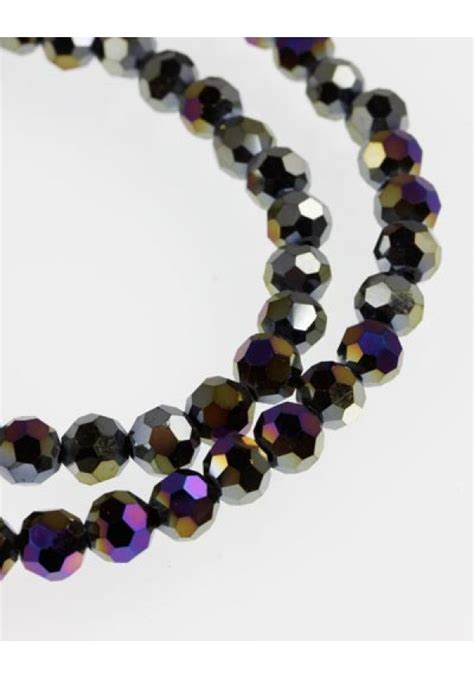 uk bead shops glass faceted 1 string jet ab c