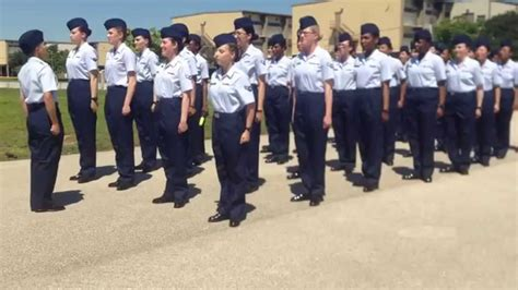 what is after basic training in air force air force bmt graduation proposal youtube