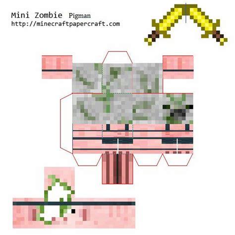 Minecraft Papercraft Pigman - papercraft pigman 4 from randomobs minecraft