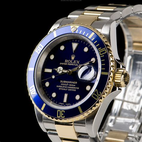 Rolex Submariner Date Ref: 16613LB Two tone gold/steel   40mm   MD Watches