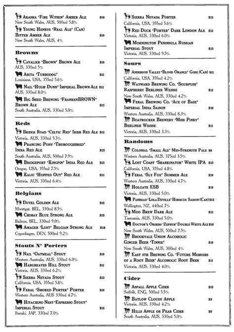 new year cocktail menu new year new cocktail menu inspiration the shady pines
