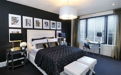romance in bedroom in hollywood decorating your home with black ideas inspirations