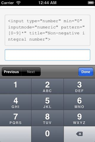 html input pattern integer html html5 input type number with regex pattern in