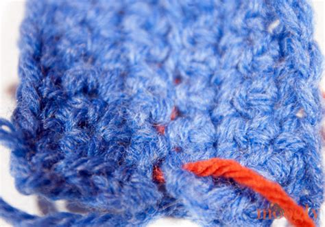 Mattress Stitch Crochet by Tutorial Mattress Stitch Seaming Moogly