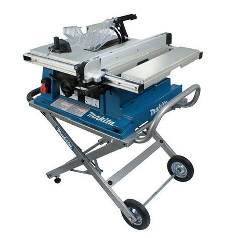 makita 10 table saw makita 2705x1 10 table saw with stand