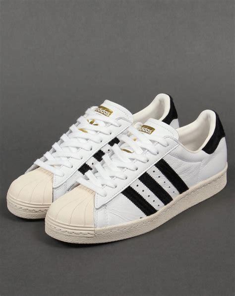 Sepatu Adidas Superstar White Blue 36 40 adidas superstar 80s trainers white black gold originals shell toe shoe