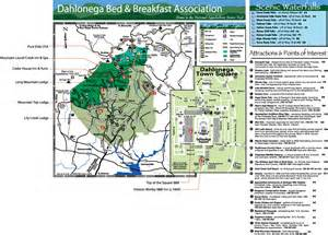 Bed And Breakfast North Georgia Map Of Bed And Breakfast Inns Of Dahlonega Association In