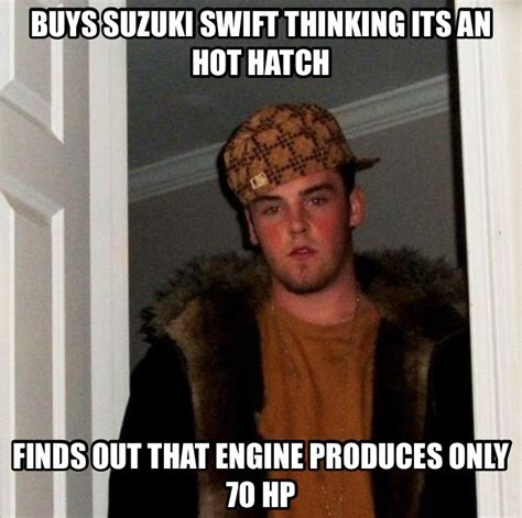 Suzuki Meme - made a meme on the suzuki swift ctom