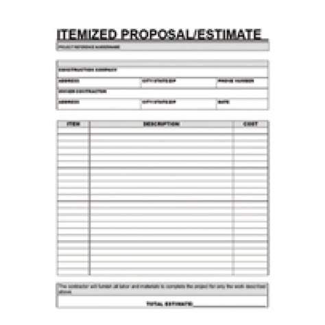 contract term sheet template lovely contractor bid sheet template
