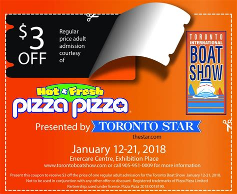 toronto boat show parking 3 off toronto boat show jan 12 21 also 5 after 5pm and