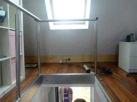 absturzsicherung treppengeländer treppengel 228 nder absturzsicherung wird montiert s