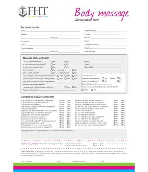 client consultation form template fht consultation forms