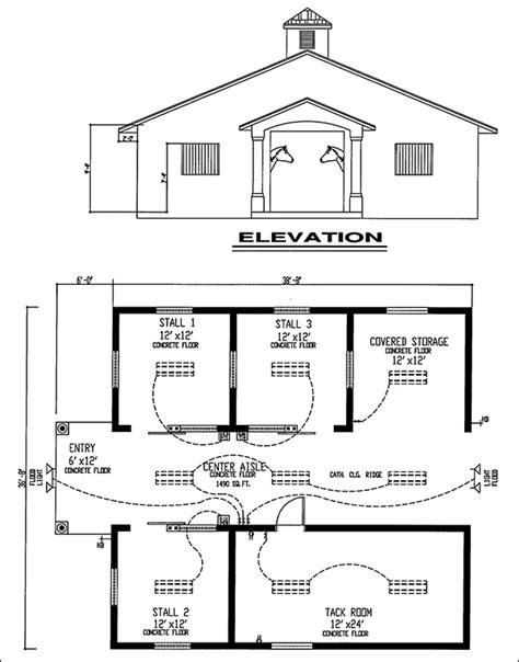 horse barn floor plans easy horse barn design software cad pro