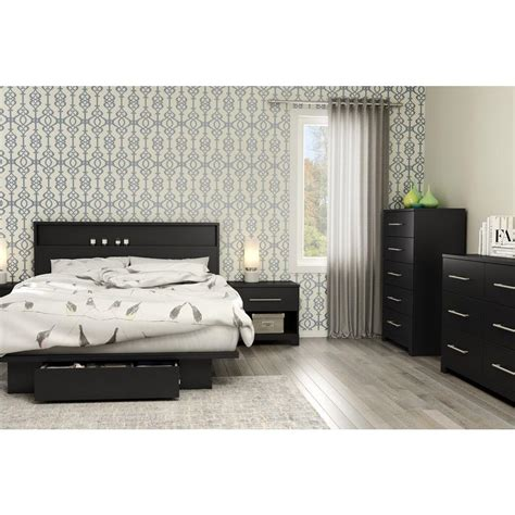 south shore storage bed south shore primo black storage bed 3307a1
