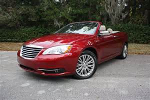 Chrysler Convertible 2013 2013 Chrysler 200 Limited Convertible Ridelust Review