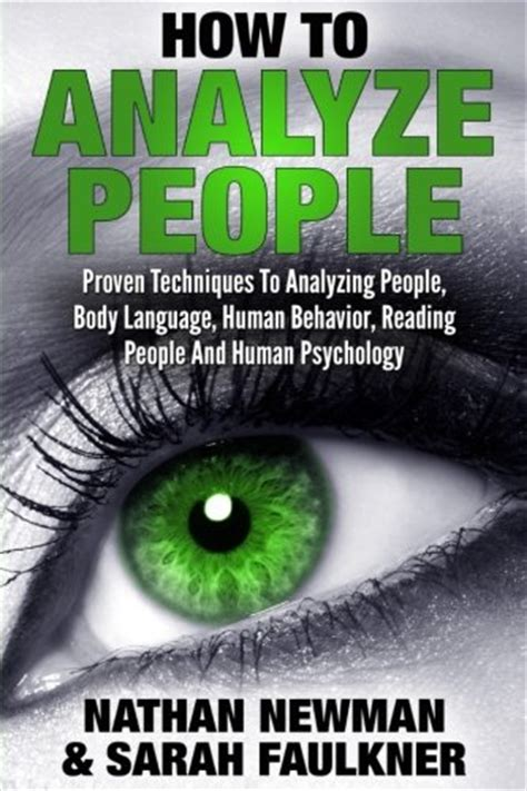 how to analyze a psychologist s guide to mastering the of speed read volume 5 books profiling mind library