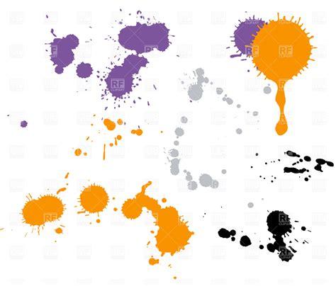 eps format paint net paint drops vector clipart image 4606 rfclipart