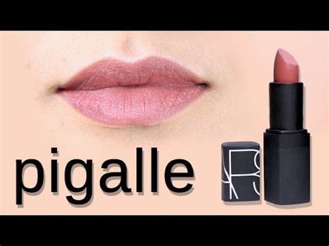 Nars Lipstick Pigalle nars pigalle lipstick review
