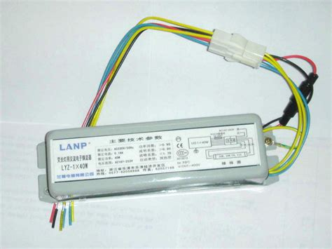 fluorescent lighting wiring ballast for fluorescent light