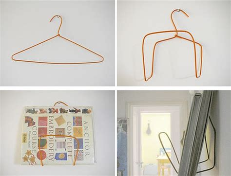 How To Make A Hanger Holder - 22 ingenious diy projects featuring repurposed hangers