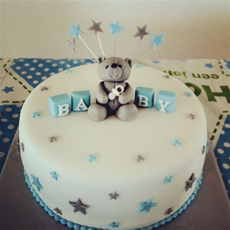 Simple Baby Shower Cakes by Baby Shower Cake Boy Oppa Baby Style