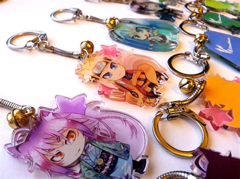 Anime Keychains by Chibi Anime Keychain Keyring Mixed 183 Chaosraven