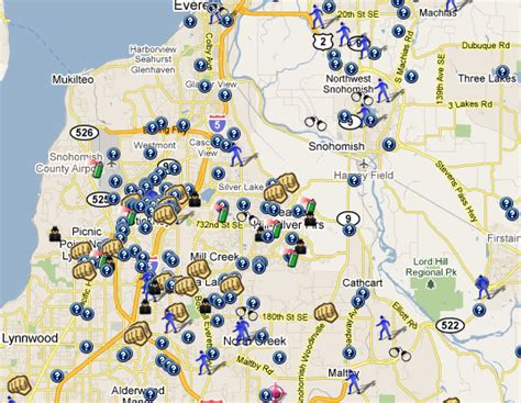 Snohomish County Warrant Search Snohomish County Offenders Map