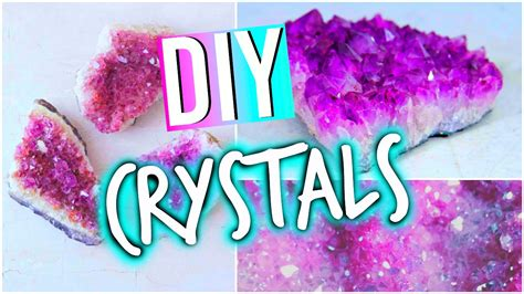 diy room decorations inspired crystals youtube