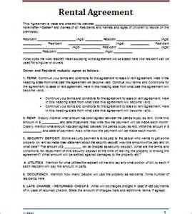Demo Agreement Template Rental Agreement Template Document Hub