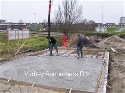 beton laten storten voor tuinhuis verhey aannemers bv de fundering voor uw aanbouw nu