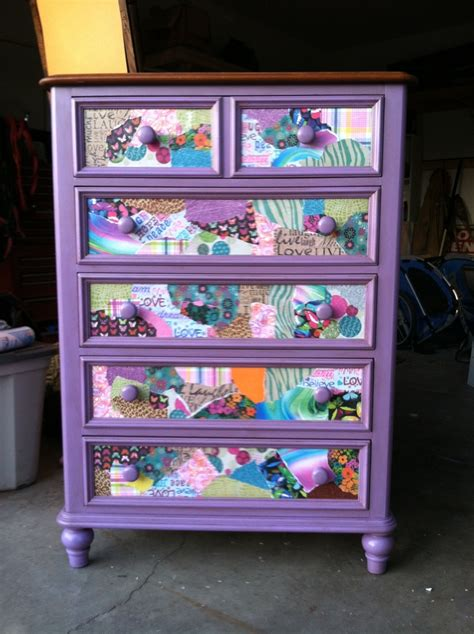 How To Modge Podge A Dresser by 30 Best Images About Modge Podge Ideas On