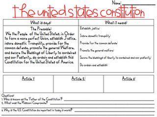 preamble template preamble worksheet worksheets releaseboard free