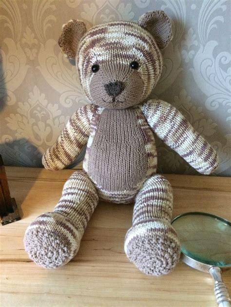 bear knit a teddy knitting pattern by knitables knitables teddy bear knitting project by susy j eli s