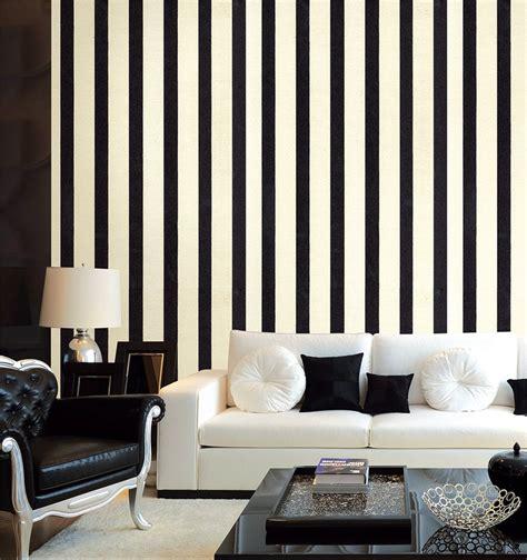 jual wallpaper dinding motif garis vertikal p  lapak