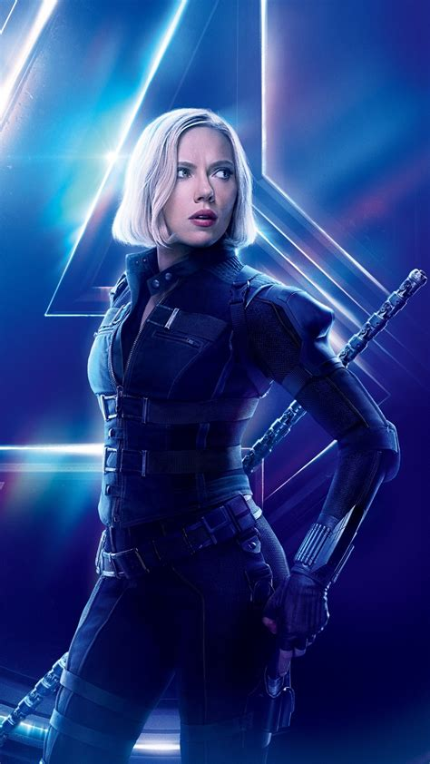 black widow  avengers infinity war scarlett