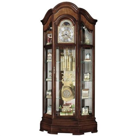 Corner Curio Cabinet Howard Miller Majestic Ii Curio Grandfather Clock 610939