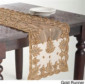 Changing Table Runner Hand Beaded Design Table Topper Or Runner Contemporary