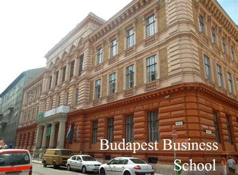 Of Miskolc Mba by Budapest Business School Budapeşte Macaristanda Eğitim