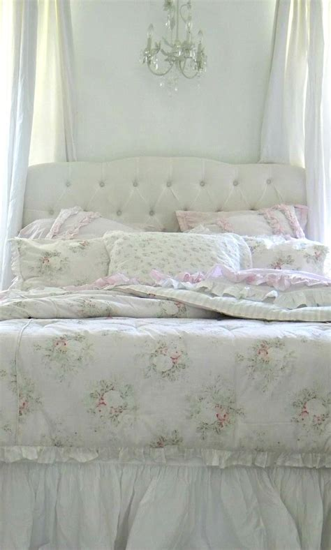 17 best images about bedrooms shabby chic romance on pinterest dust ruffle bed covers and