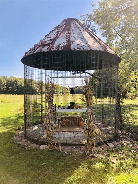 corn crib   perfect rustic gazebo corn crib