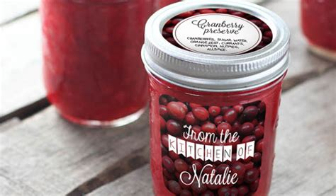 design your own jam label custom jam and jar labels stickeryou products