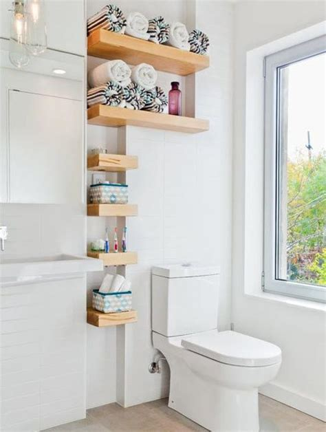 15 small wall shelves to make bathroom design functional