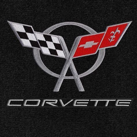 vintage corvette logo c5 lloyd ultimat corvette logo floor mats corvette store