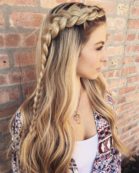 17 best ideas about braided hairstyles on pinterest