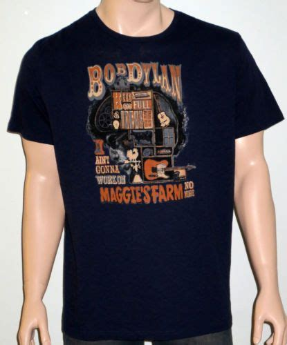 T Shirt Lucky Bob new bob for lucky brand maggie s farm graphic s s navy t shirt