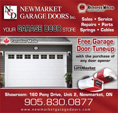 Ads Garage Doors Newmarket Garage Doors Inc Newmarket On 2 160 Pony Dr Canpages