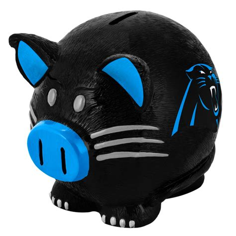 carolina panthers fan shop forever collectibles nfl large piggy bank carolina