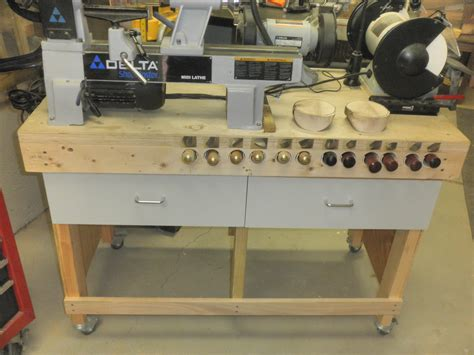 lathe bench plans build a cheap simple sturdy workbench woodworking for