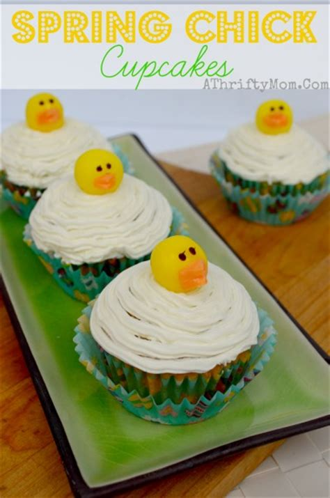 easy easter desserts spring chick cupcakes quick and easy easter dessert a