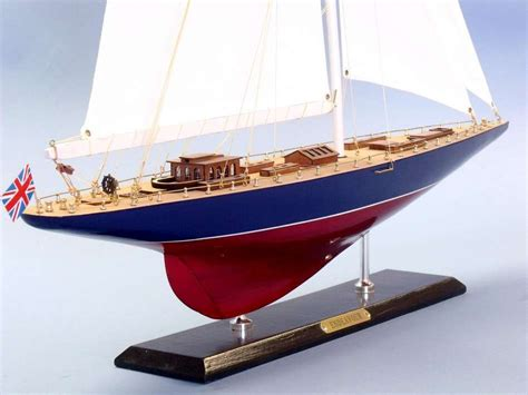 Handmade Sailboat - buy wooden endeavour limited model sailboat decoration 35